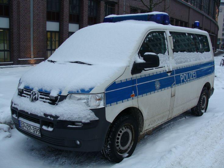 Berlin VW police van