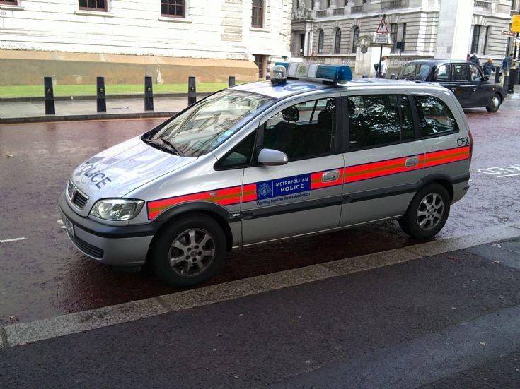 Metropolitan Police Vauxhall London