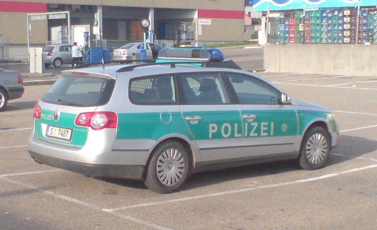 German Police Car Polizei Streifenwagen
