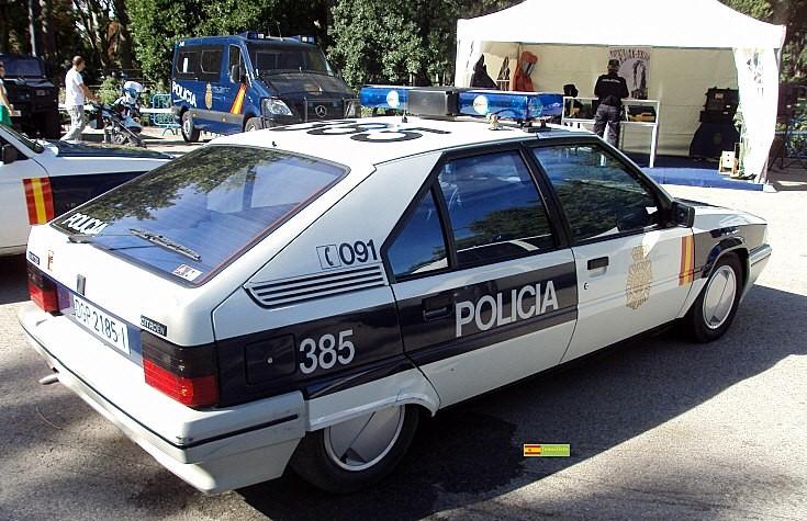 Citroen BX of Spanish police