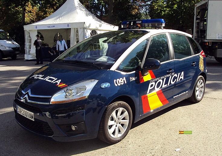 CNP C4 patrol car