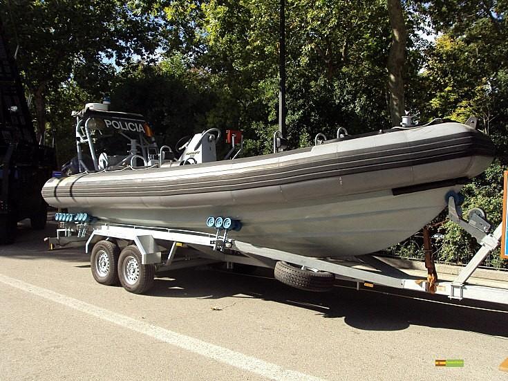 Spanish police boat