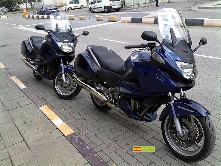 Spanish Honda Deauville 700