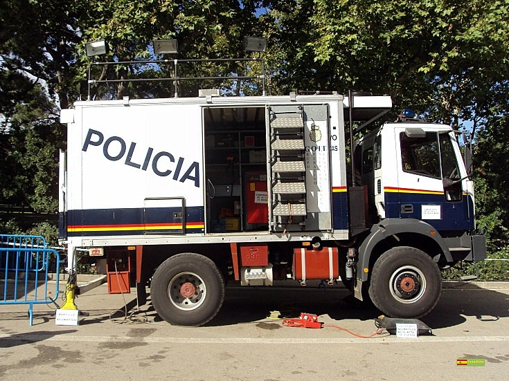 Photo of Spanish Police Iveco