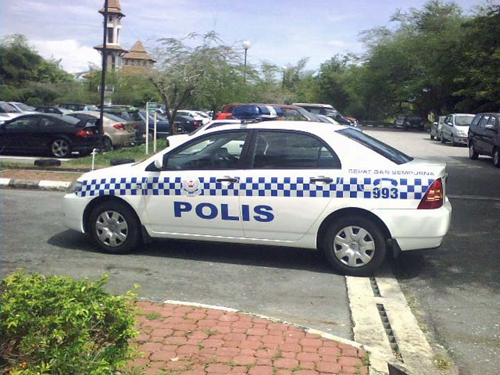 Royal Brunei Police Force Toyota Corolla photo