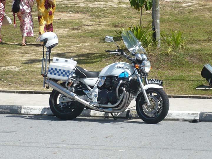 Royal Brunei Police Force Suzuki motorcycle BG2246