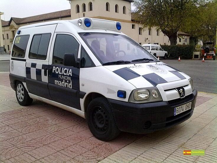 Peugeot Expert of Madrid police