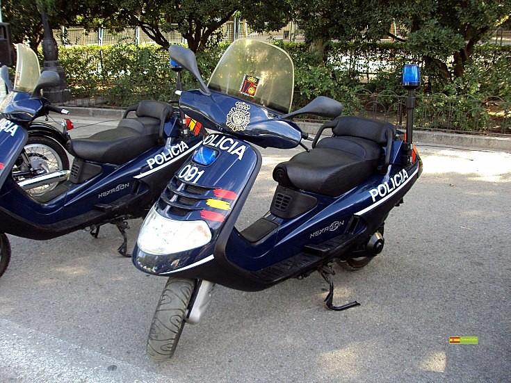 Piaggio of the Spanish Police