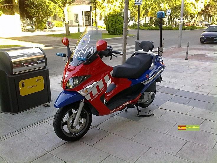 Piaggion scooter