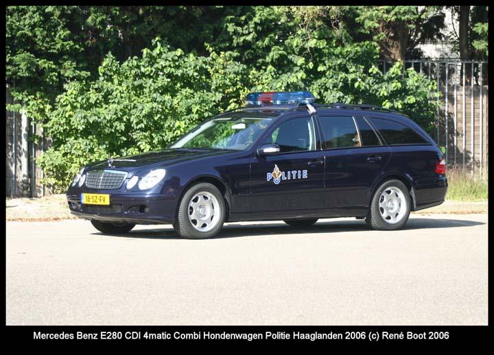 Regio Politie Haaglanden Mercedes Dog Unit
