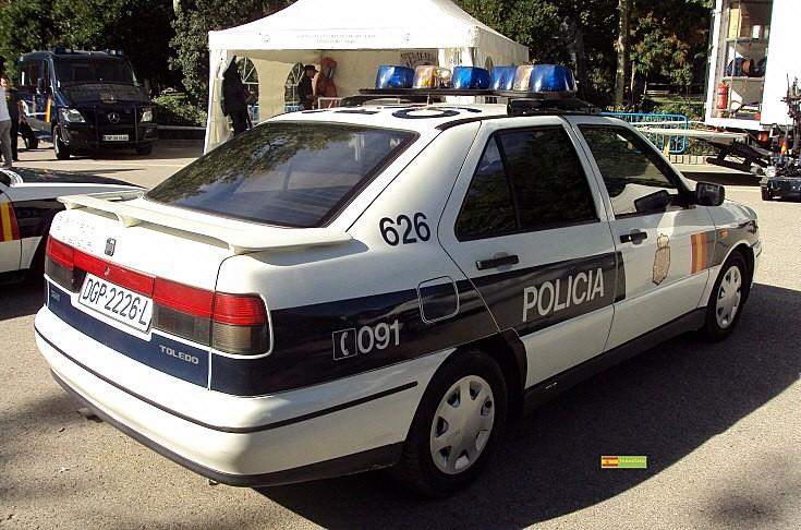 Policia Seat Toledo