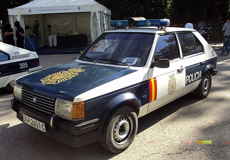 Spanish Police Cars