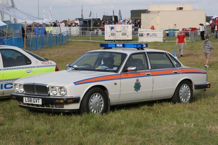 Jaguar  XJ40 PS former Staffordshire police