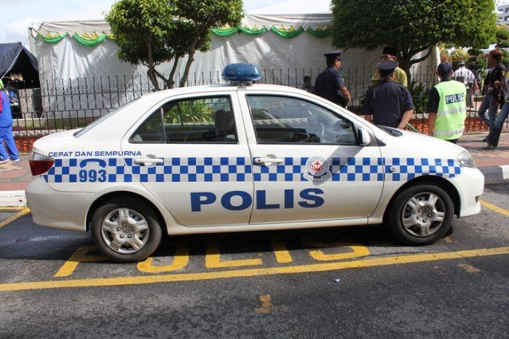 Toyota Vios patrol car