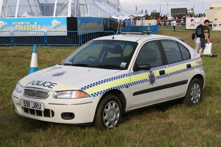 Former Dorset police Rover 220