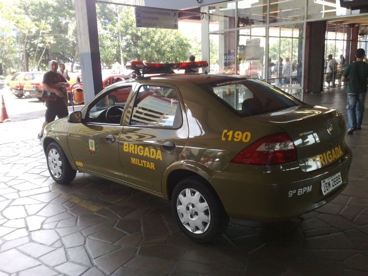 Chevrolet Prisma - Brigada Militar RS