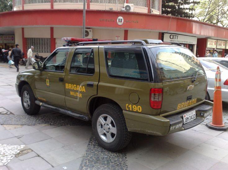 Chevrolet Blazer - Brigada Militar in Brazil