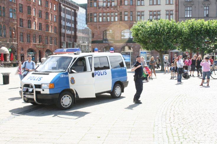 Polis Malmo Sweden