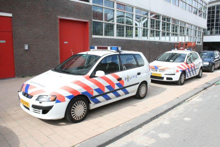 Police Rotterdam Rijnmond VW Mitsubishi