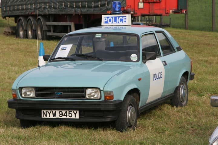 Austin Allegro Police car ex-Metropolitan police