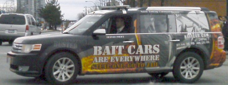 Bait Cars Are Everywhere