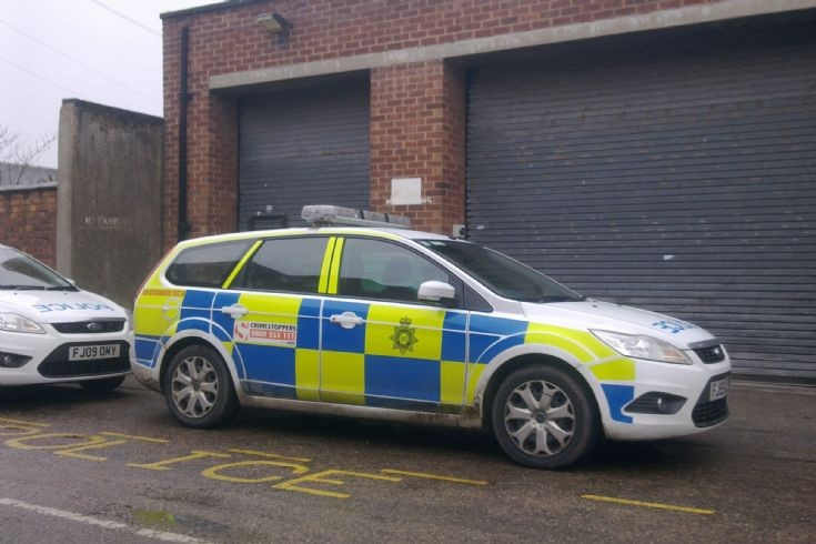 Notts POLICE Ford Focus
