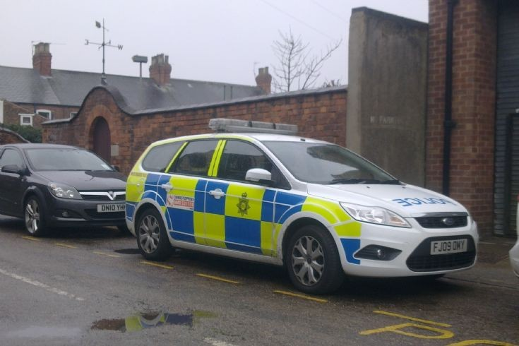 Ford Focus NOTTS Police