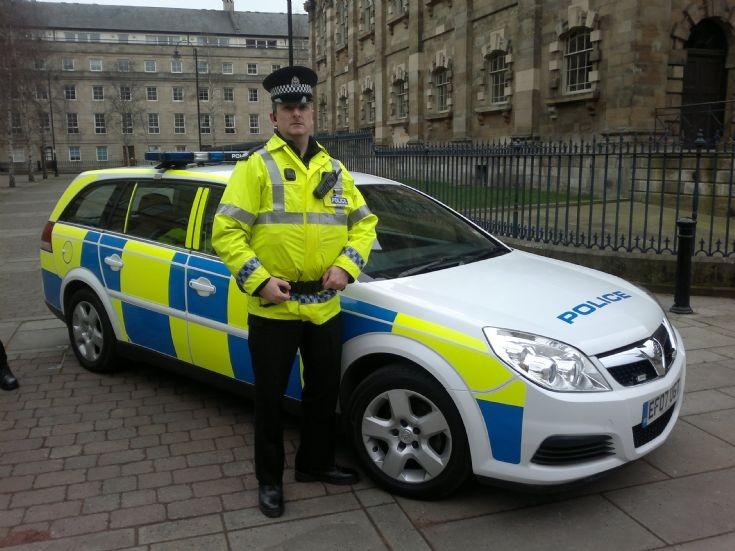 Police car TV/Film use