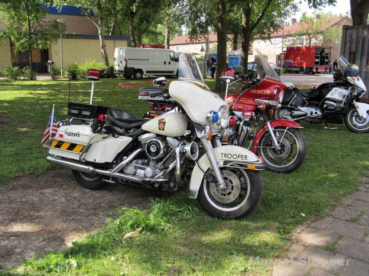 Harley Davidson Pennsylvania State trooper