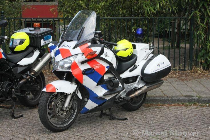 Politie Amsterdam Honda motorcycle