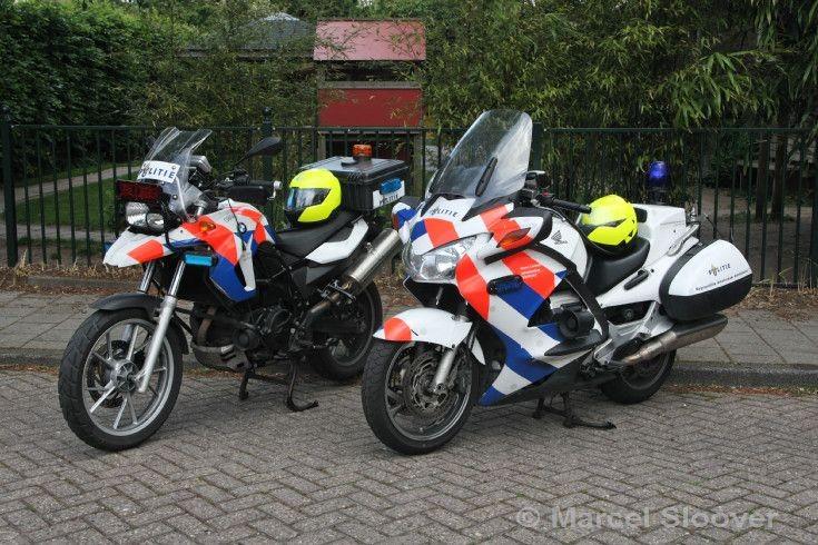 Politie Amsterdam Honda BMW motorcycle