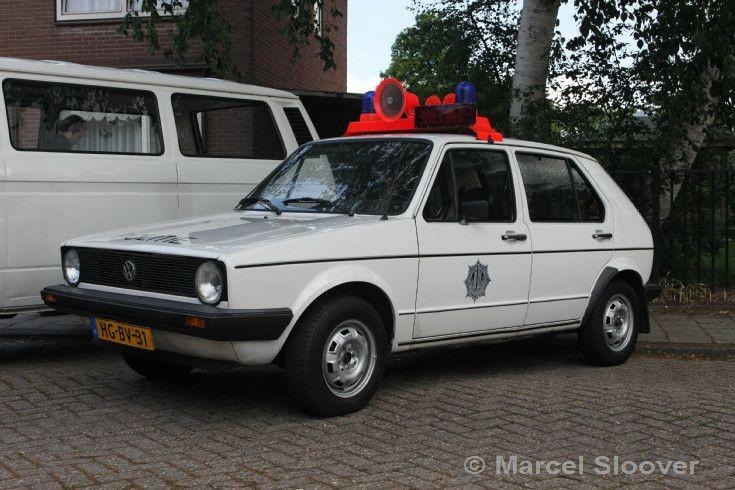 Volkswagen Golf Gemeentepolitie Amsterdam
