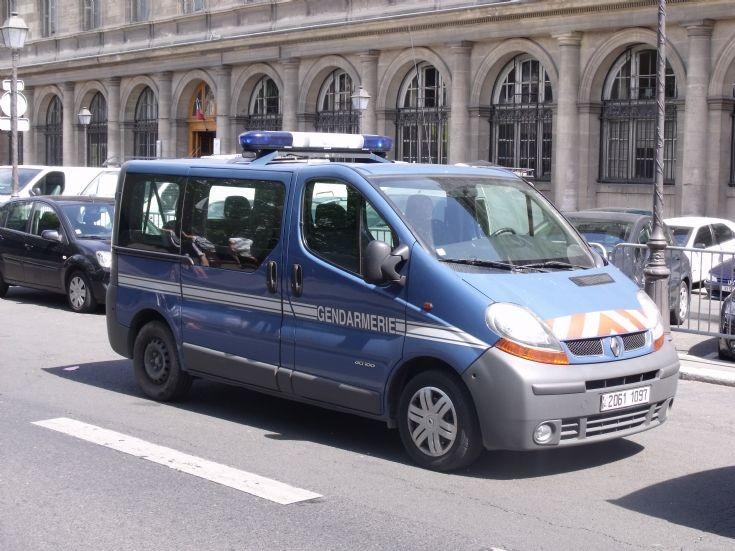 Van of Gendarmerie.