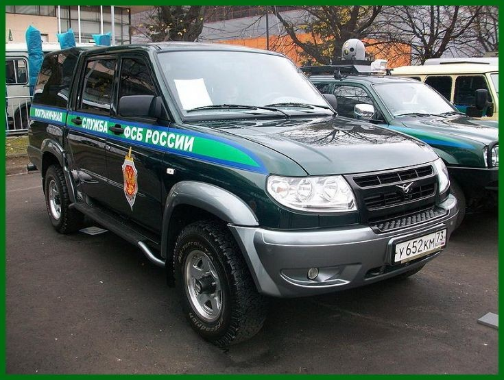 uaz-patriot 3162   border servis RUS
