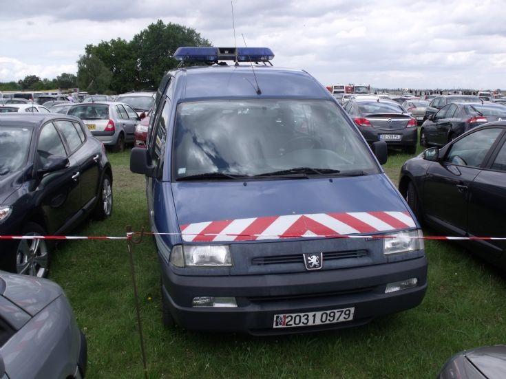 Gendarmerie de l'Air's light van.