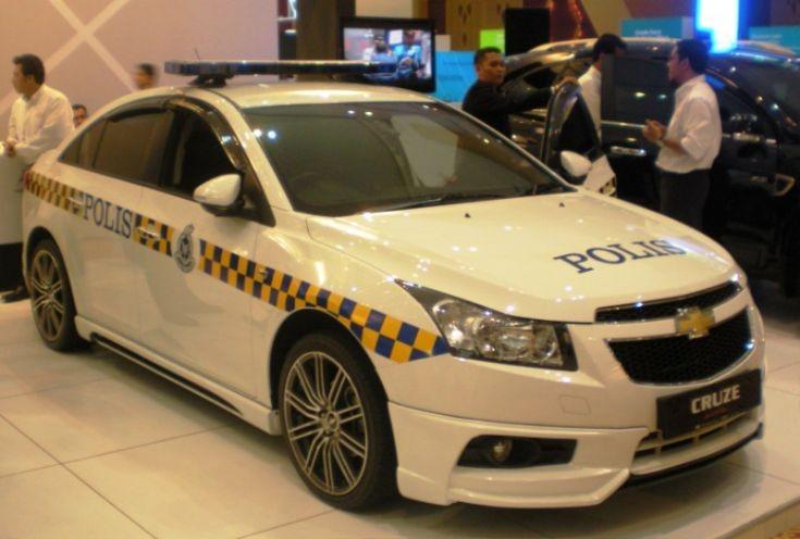 Police Car Photos Royal Malaysia Police Chevrolet Cruze Se