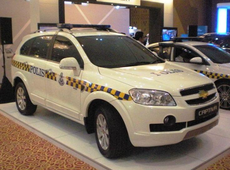 Royal Malaysia Police - Chevrolet Captiva 2.0 AWD