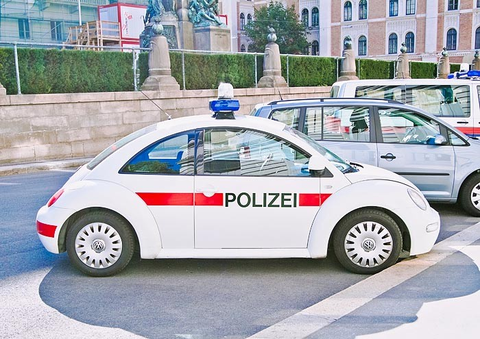 Vienna Police VW