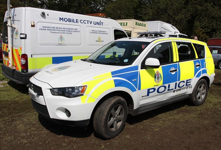 Tayside Police Outlander GX3