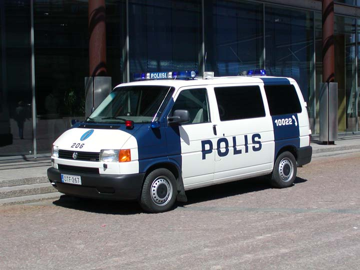 Helsinki Polis Volkswagen Transporter