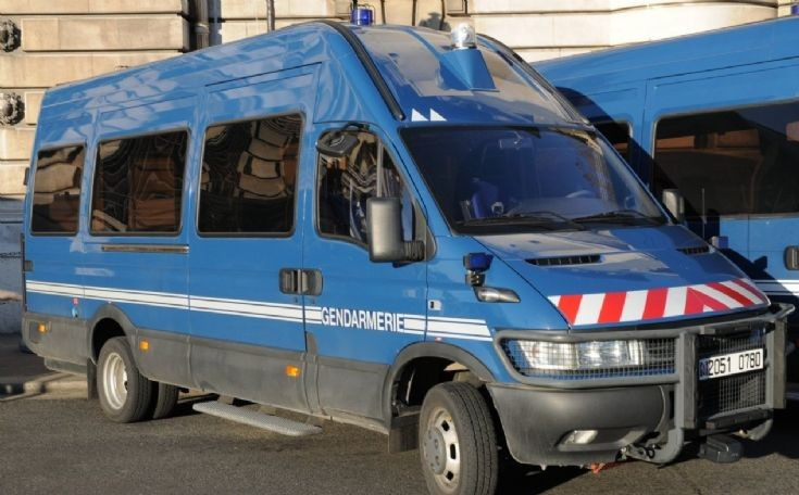 Iveco of Gendarmerie Mobile.