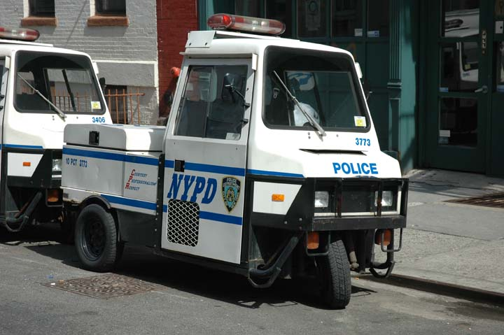 NYPD Parking Enforcement Vehicle 10 PCT