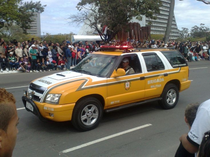 Chevrolet Blazer Brigada Militar Rodoviaria