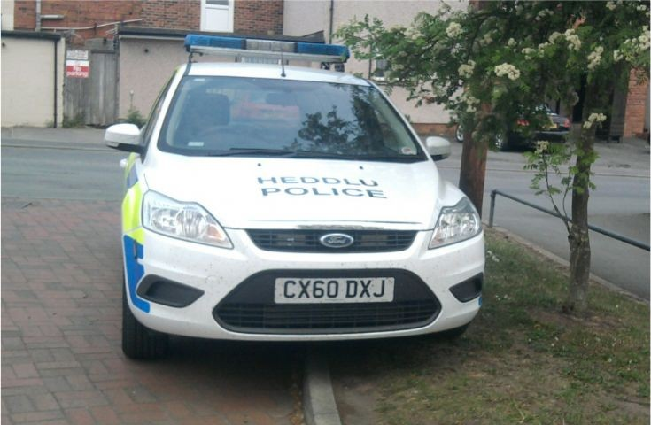 North Wales Police Ford Focus CX60 DXJ