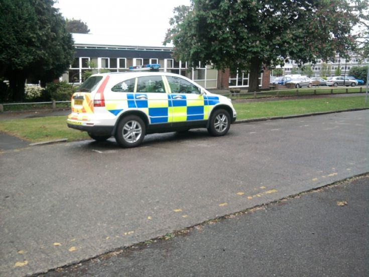 Picture of North Wales Police Honda CRV