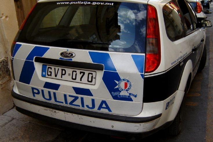 Police Crest, Malta