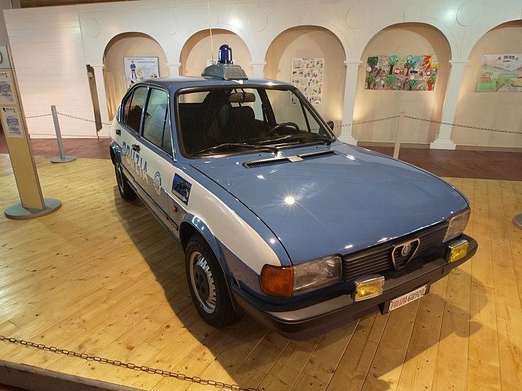 Polizia Alfa Romeo