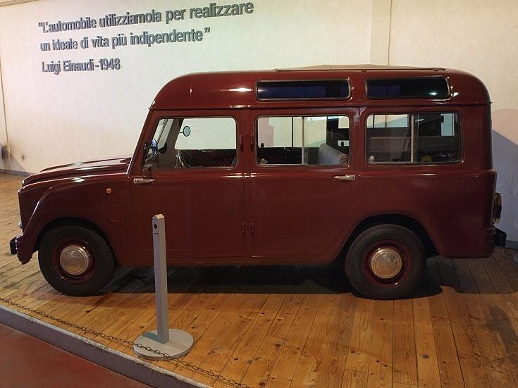Old Fiat van
