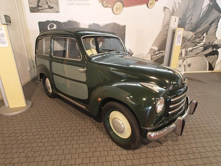 Well preserved Polizia classic Fiat