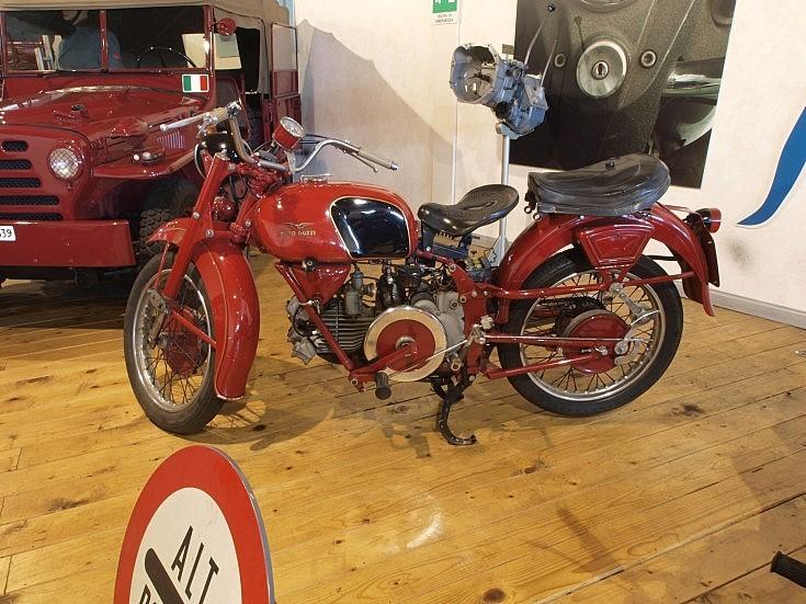 Classic Guzzi bike